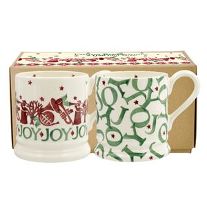 Boxed ½ Pt. Mugs Joy Trumpets