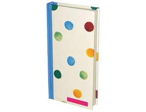 Slim Handbag Notebook Polka Dots